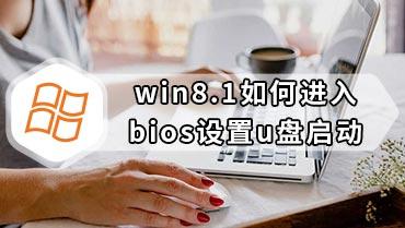 win8.1如何进入bios设置u盘启动 win8.1怎么进入bios设置u盘启动1
