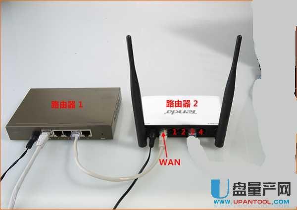 两个无线路由器怎么连接 有线无线教程
