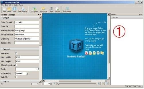 TexturePacker(图片打包工具)